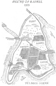 Map of Gavell