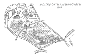 Map of Hawksworth